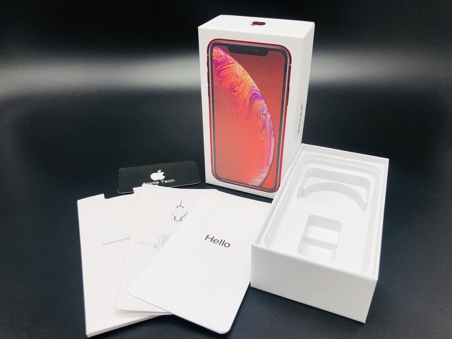 Коробка iPhone XR Red (Product)